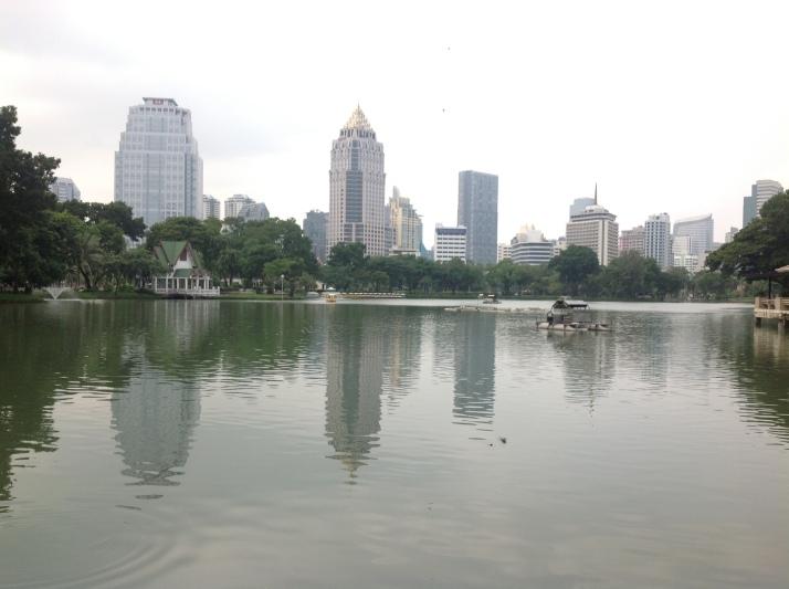 Lago parque Lumpini