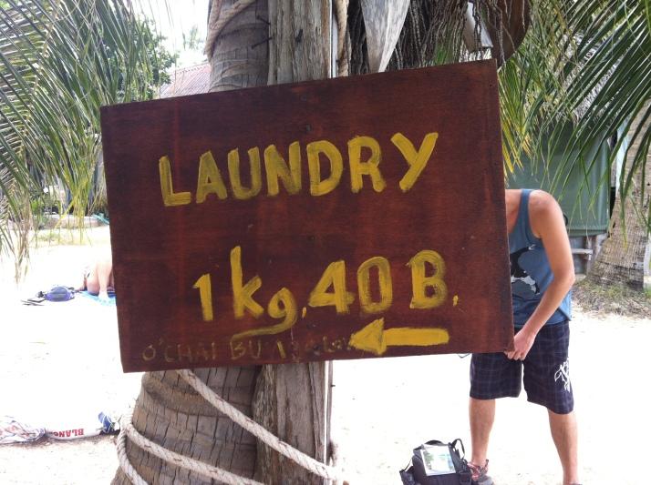 Es muy barato lavar la ropa